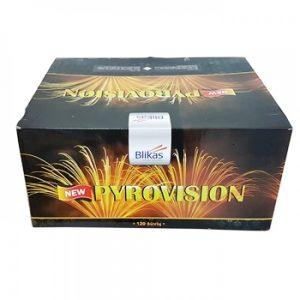 New pyrovision baterija